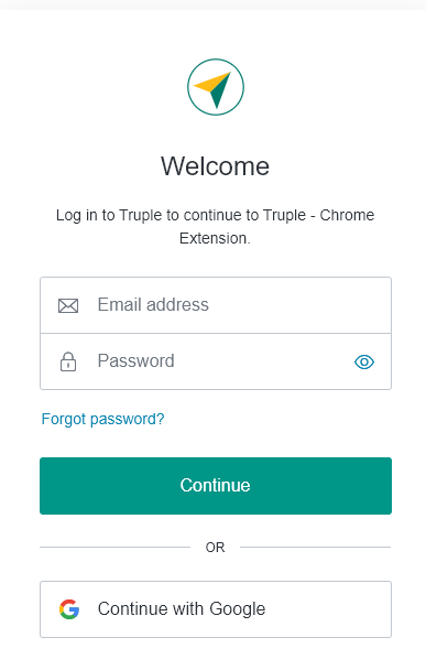 login to truple